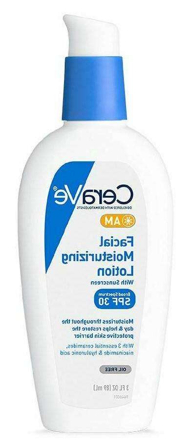 CeraVe AM Facial Moisturizing Lotion with Sunscreen SPF 30 3