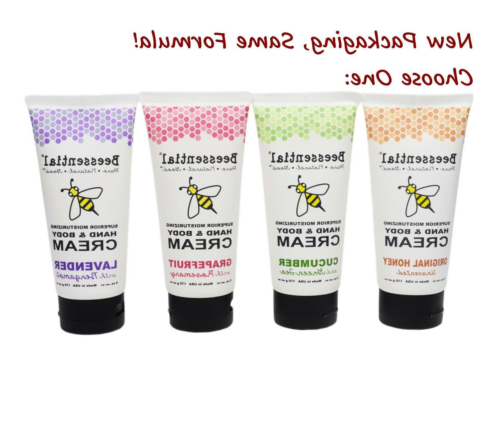Beecology Beessential Hand Face & Body Cream Lotion Made in
