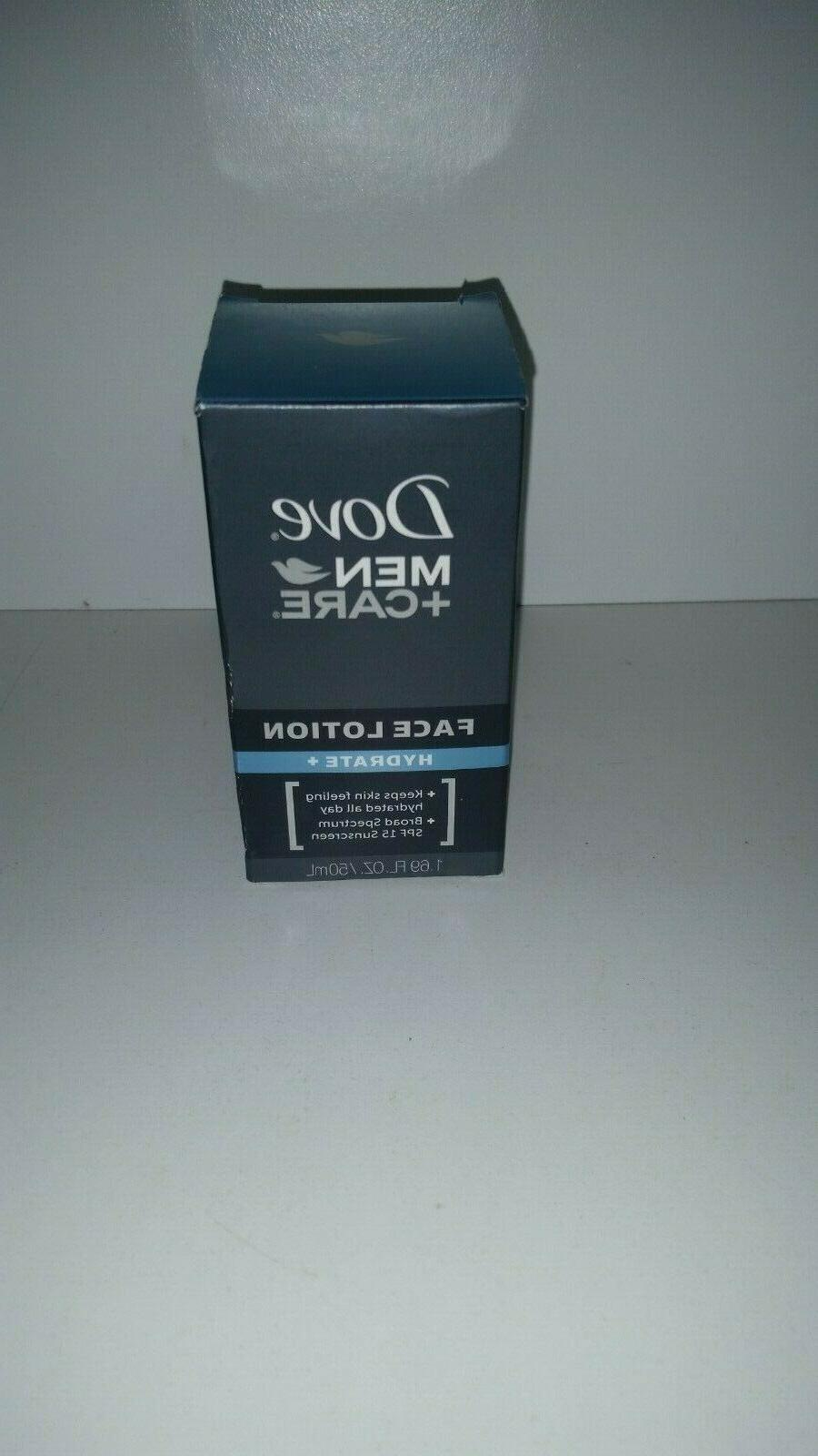 brand new men care hydrate face lotion