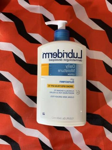 daily moisture lotion with sunscreen spf 15