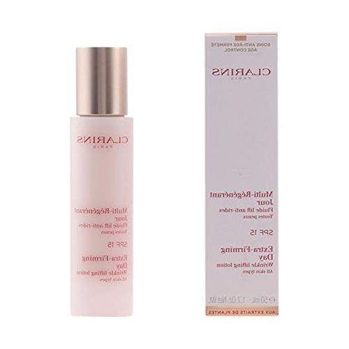 Clarins Extra-Firming Day Lotion SPF 15 All Skin Types 1.7 f