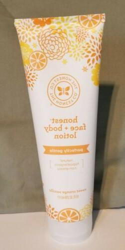 The Honest Company Face And Body Lotion Sweet Orange Vanilla