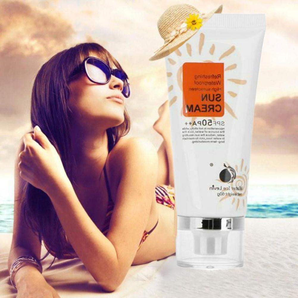 <font><b>SPF</b></font> PA++ Sunscreen Waterproof Sunblock Moisturizing Radiation Sunscreen Cream