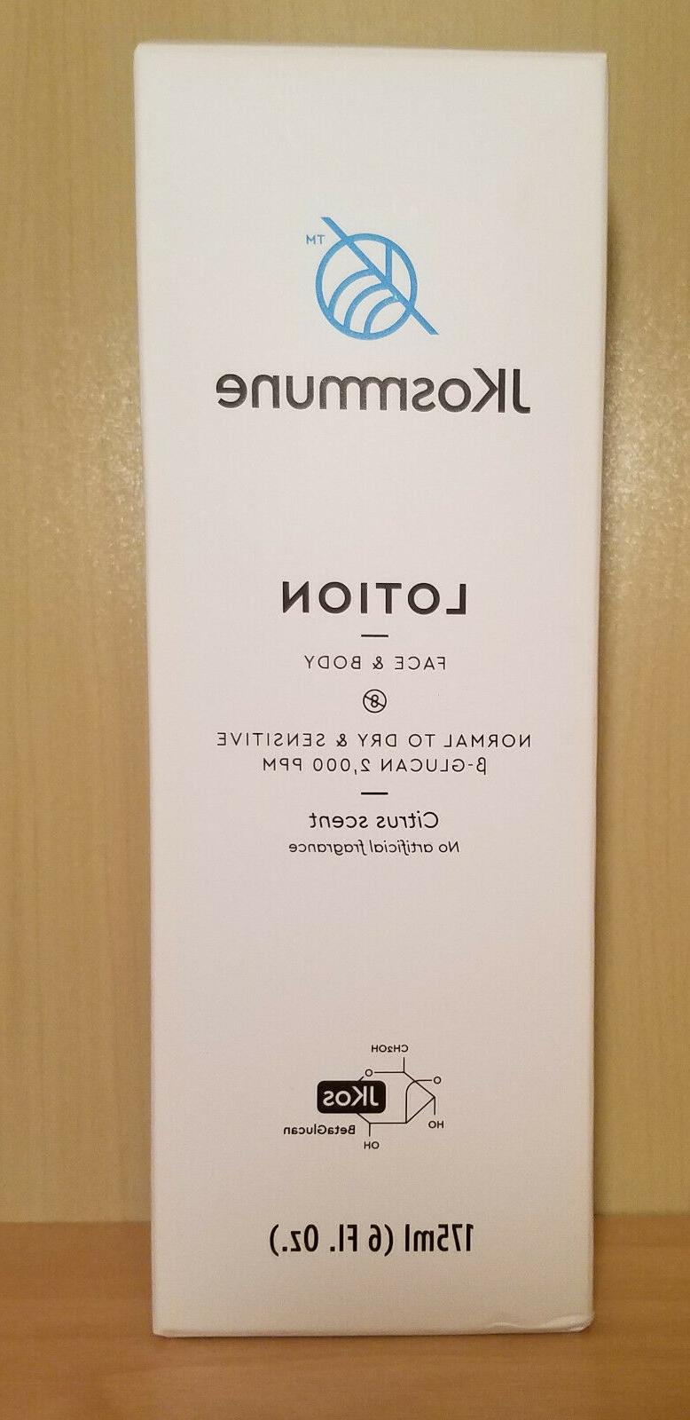 jkosmmune face and body lotion for normal