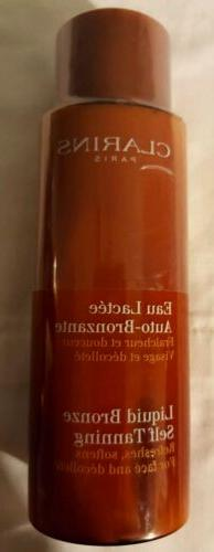 Clarins Liquid Bronze Self-Tanning For Face and Decollete 4.