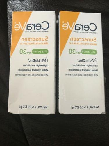 lot of 2 sunscreen face lotion 2