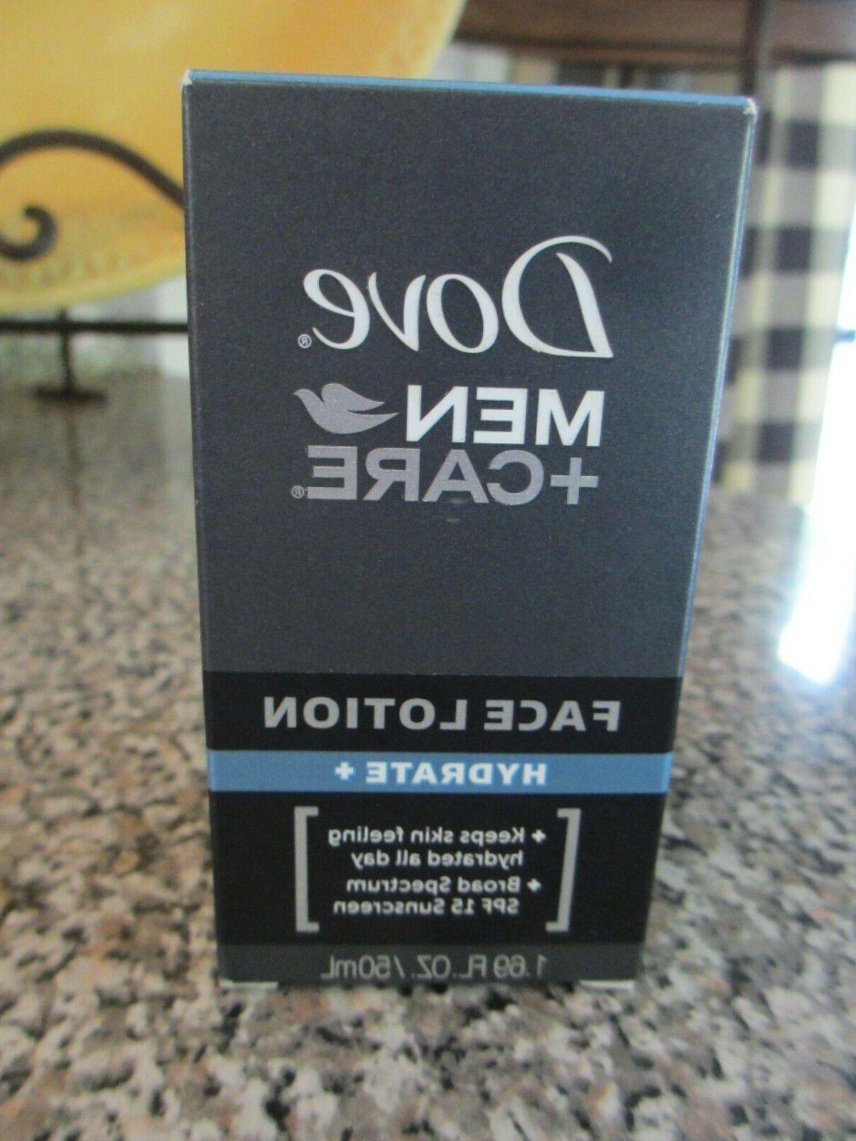 men care hydrate face lotion spf 15