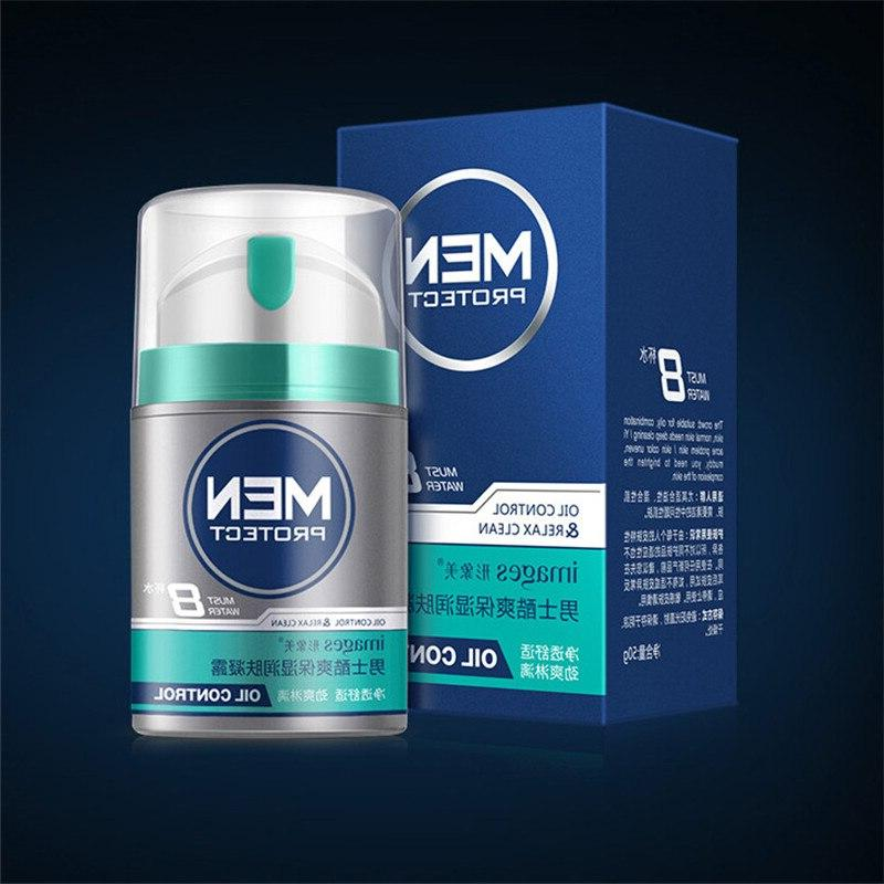 Men Moisturizing Oil-control <font><b>Face</b></font> Cream Hydrating Whitening Shrink <font><b>Lotion</b></font> Day Skin Care