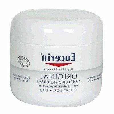Eucerin Original Moisturizing Cream, 4 oz