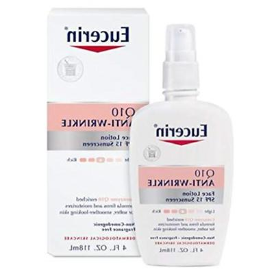 Eucerin Q10 Anti-Wrinkle Sensitive Skin Lotion SPF 15 4 Ounc