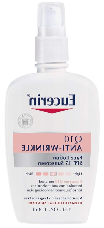 q10 anti wrinkle face lotion with spf