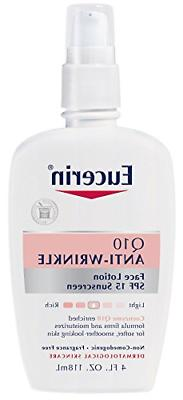 Eucerin Q10 Anti-Wrinkle Face Lotion with SPF 15 - Fragrance