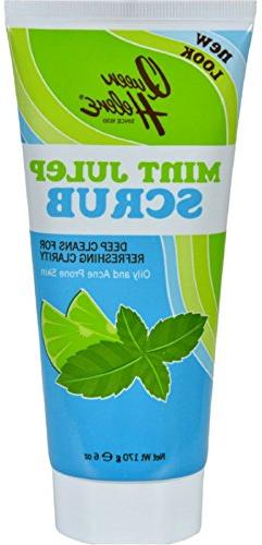 Queen Helene Refreshing Natural Facial Scrub Mint Julep -- 6