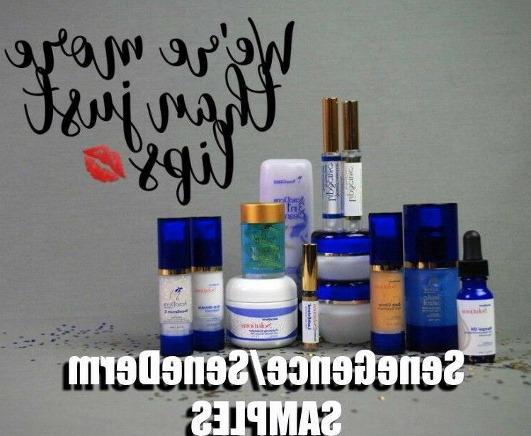 sample travel sizes face eyes and body