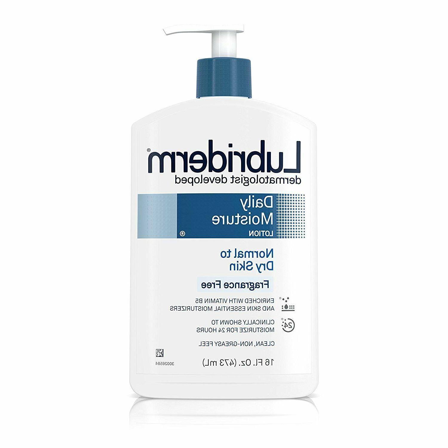 Lubriderm Skin Therapy Hand and Body Lotion 16 oz Pump Bottl