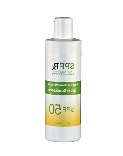 spf 50 sport lotion water resistant sunscreen