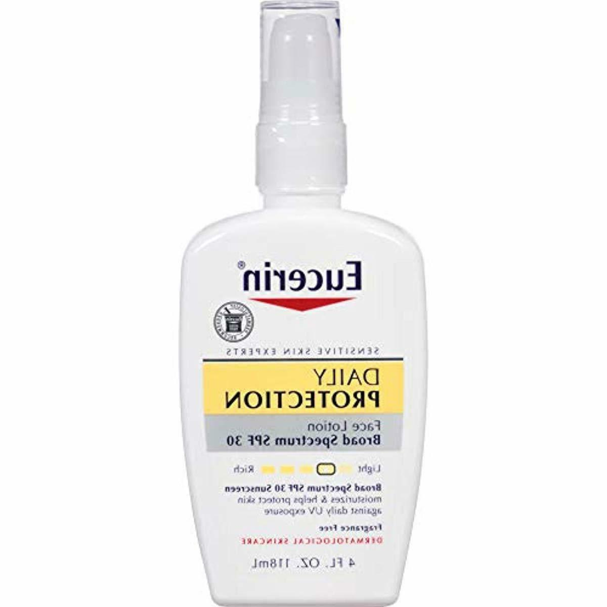 sunscreen daily lotion face spf 30 protection