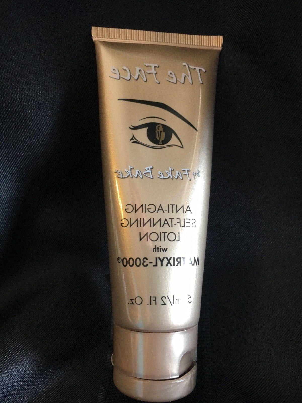 the face anti aging self tanning lotion