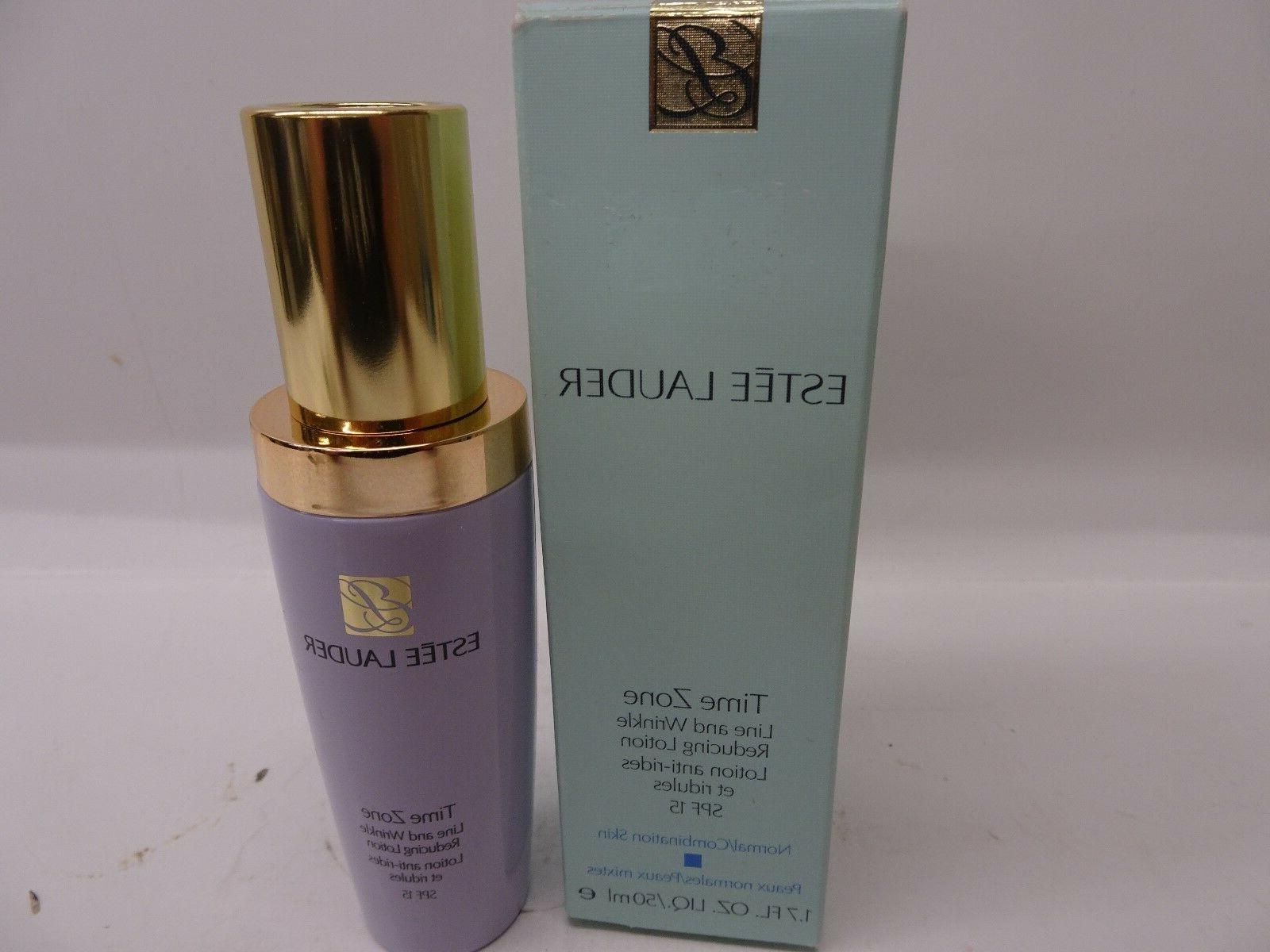 Estee Lauder Time Zone Line and Wrinkle Reducing Lotion SPF
