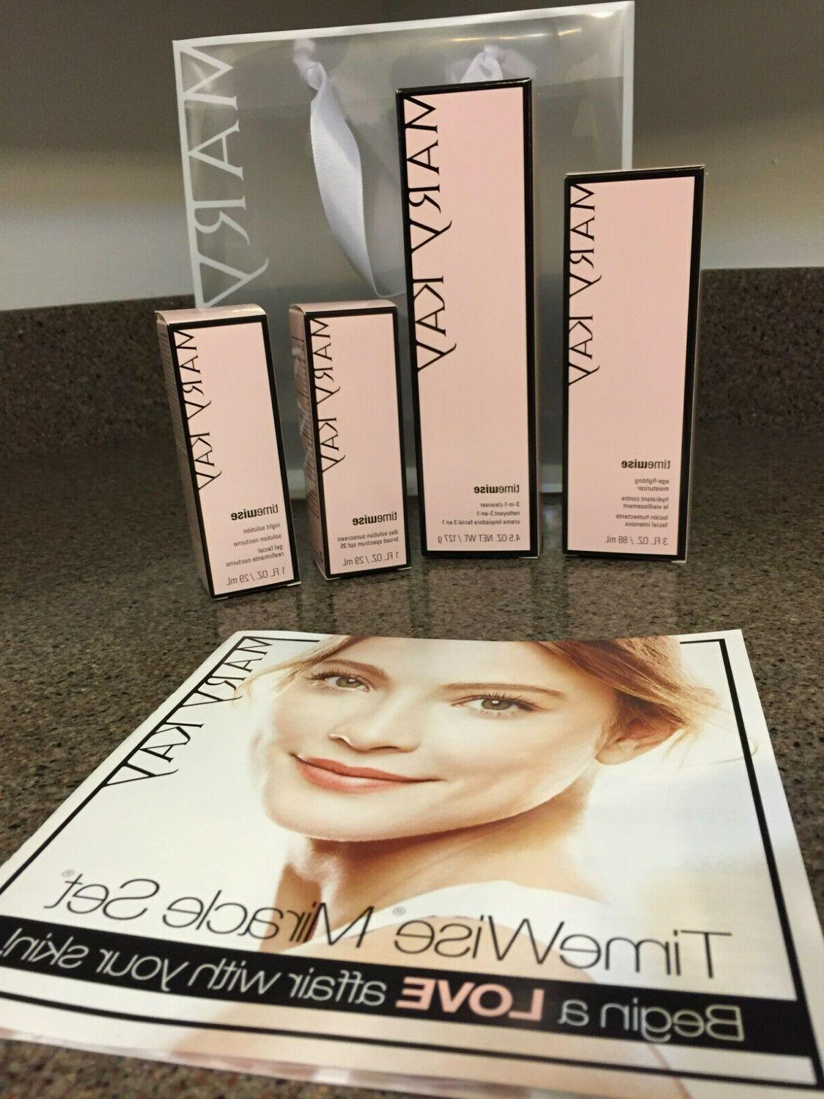 timewise miracle 4 piece set new in