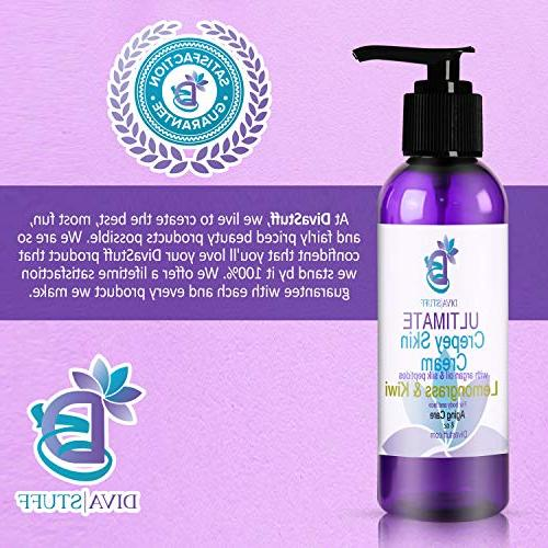 Ultimate With Oil, Silk More, For Dry, Crepey. Damaged Aging 8oz,Lemongrass and Kiwi Scent