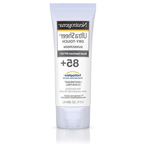 Neutrogena Ultra Sheer Dry-Touch Sunscreen SPF 85+ -- 3 fl o