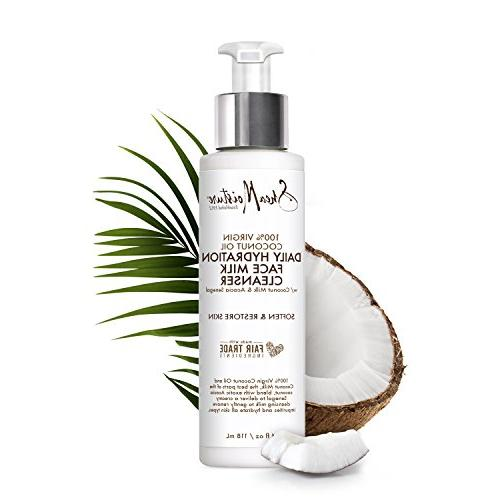 Shea Coconut Oil Pack Duo   Daily Lotion Ounce Daily Hydration Face Milk Cleanser