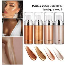Liquid Highlighter Face Body Shimmer Lotion High-gloss Glow