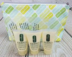 Lot 3 Clinique Dramatically Different Lotion + Bag! Tube 1oz