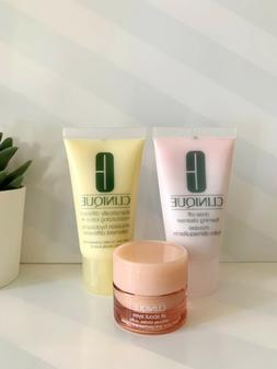 Lot 3 Clinique Dramatically Different Lotion, Foaming Cleans