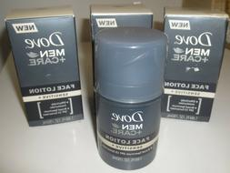 Lot of 3 Dove Men+Care Sensitive Face Lotion 1.69 Oz expire