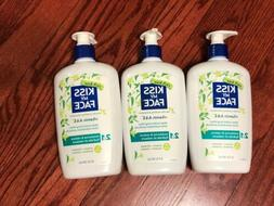 Lot Of 3 - NEW Kiss My Face Vitamin A&E 2in1 Moisturize & Re