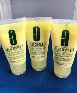 Lot of 3 Clinique Dramatically Different Moisturizing Lotion