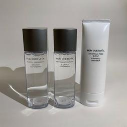 Shiseido Men Deep Cleansing Scrub 4.5oz & 2x Hydrating Lotio