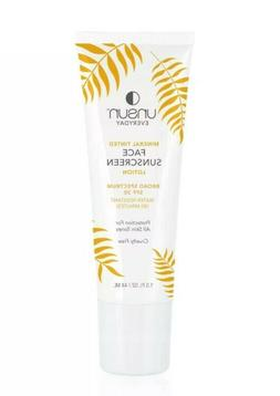 Unsun Cosmetics Mineral Tinted Face Sunscreen Lotion, SPF 30