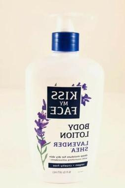 Kiss My Face Moisturizer Lavender & Shea Butter 16 oz