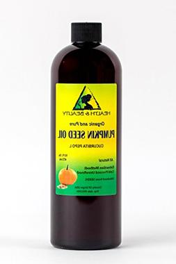 Pumpkin Seed Oil Unrefined Organic Carrier Cold Pressed Pure