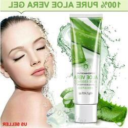 Pure Aloe Vera Gel  Moisturizer Soothing Body Face Hair Skin