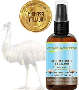 PURE EMU OIL. 100% Pure / PREMIUM QUALITY. for FACE, BODY, H