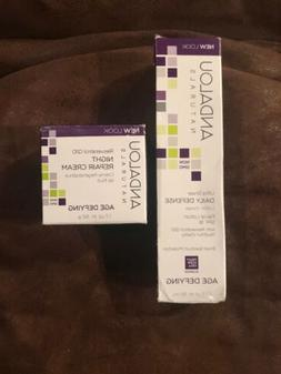Andalou Naturals Resveratrol Q10 Night Repair Cream & Daily