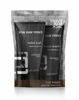 Every Man Jack Shave Set Fragrance Free Shave Cream and Face