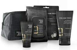 Every Man Jack Skin Gift Kit Oil Defense Face Lotion Face Wa