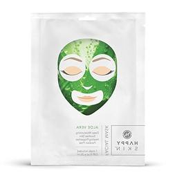 Happy Skin Rejuvenating Facial Sheet Mask, 5 Pack - Aloe Ver