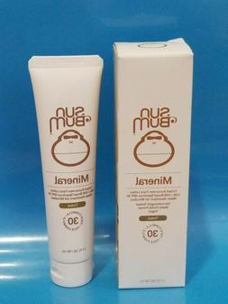 Sun Bum SPF 30 Mineral Tinted FACE Lotion - 1.7oz/ 50ml . EX