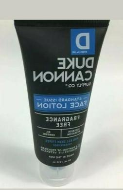 Duke Cannon Standard Issue Face Lotion Fragrance Free Lotion