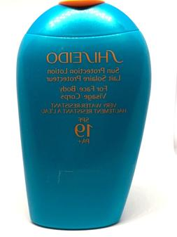 Shiseido  Sun Protection Lotion For Face and Body SPF 19  PA