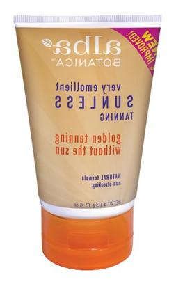 Alba Sunless Tanning Lotion, 4-Ounce Tubes