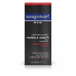 Neutrogena Triple Protect Face Lotion SPF 20 Men, 1.7 fl oz
